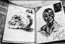 sketchbook / photography // art // textile