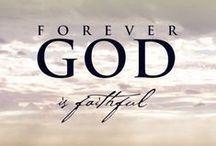 K I N G / OUR GΩD. he us faithful x