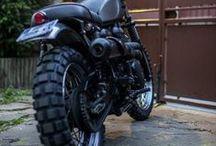 motorbikes - classics and scramblers / classic motorbikes, scramblers and similar
