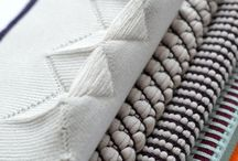 weave & knit / Woven and knitted textiles.