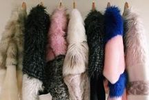 faux fur / Faux is best. Fur to bring out the inner boho queen.