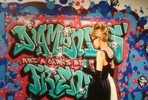 Gaffiti Pop (Antonio de Felipe) / Fotos tomadas en la expo Graffiti Pop de Antonio de felipe, no son muy buenas y desde luego merece la pena ir a verla. Como dicen las inmobiliarias, mejor ver.  + Obra, portfolio, venta, etc... http://antoniodefelipe.es/