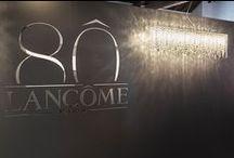 "Lolli e Memmoli for Maison Lancôme / Lolli e Memmoli crystal lamps illuminate and decorate #MaisonLancôme2015 for its exhibition ""Maison Lancôme - 80 ANNI DI STORIA E DI BELLEZZA"", the most important moments of 80 years of history devoted to female #beauty. July 17th to 3rd at FondazioneRiccardo Catella in #Milan."