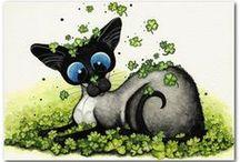 Gatos Siameses de Amy Lyn Bihrle