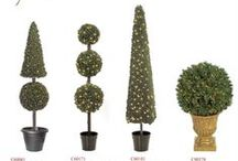 Christmas Topiaries / Display It - Topiary Trees & Shapes wholesale to retail stores, museums, casinos, restaurants, hotels and commercial spaces. Email: sales@displayit-info.com Website:  http://www.displayit-info.com