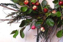 Wreath- Kranssit / Joulu, koriste, ym