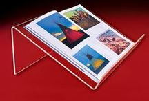 Book Displays -Acrylic / Wholesale acrylic book displays for counter-top, wall-mount and slatwall.  Email: sales@displayit-info.com  Website:  http://www.displayit-info.com