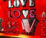 Valentine Window Displays