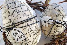 Easter- Pääsiäinen / Asetelmat, maalaus