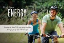 Healthy Living / Fun, simple ways to live a healthy lifestyle! / by Young Living Essential Oils