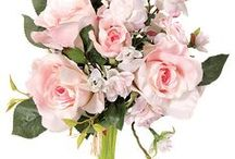 Flowers - Artificial / Silk flowers and flowering bushes
