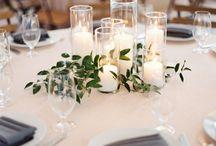 Bryllup dekorasjoner