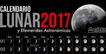 CALENDARIO LUNAR  Y  ASTRONÓMICO / Calendario Lunar y eventos astronómicos CIDA