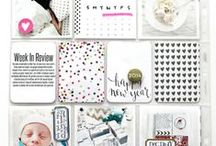 Inspiration :: Pocket Pages / Project life and pocket pages