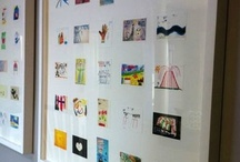 Framing for Kids Rooms / Fun framing ideas for kids, kids rooms, and any room in the house!