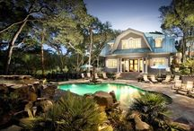 Backyard Designs: Swimming Pools / Swimming pools / by Joannie Campbell McBride