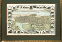 Antique Maps & Bay Area Prints