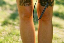 !Tattoos! ✨✌️ / by Abby Groenhof
