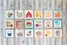 Quilt Alongs, Sew Alongs and Block of the Month!