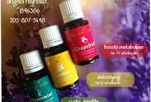 Only the Oil-ies / Many uses of essential oils  / by Angela Reynolds Young Living Essential Oils