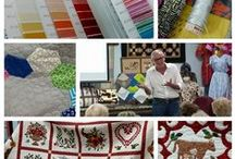 Where in the World is Alex Veronelli? / Mr. Aurifil, Alex Veronelli, has been traveling the world giving #aurichats in shops.  These lectures include the innovative thread making process, how to choose the right thread for your special projects, beautiful artworks using Aurifil thread and special giveaways at each lecture session!