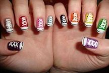 Creative Nail Art / nails, nail art, beauty / by ღ«´¯`•.‿.•❀Shani Brown❀•.‿.•´¯`»ღ