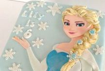 Frozen Cakes / need a Frozen cake inspiration ideas? Hope these pin collection helps