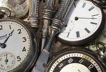 CLOCKS & TIMEPIECES / by Prayer Whisperer