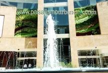 Jardin Vertical, centro comercial Quito, Ecuador / Jardin vertical, centro comercial Quito, Ecuador; con nuestros colaboradores de GREENSTAR