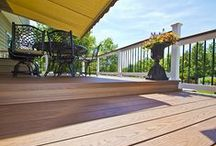 Deck / Shoreline is an Authorized dealer for Tufboard decking. We stock 5 fabulous colors. Acorn, Gray, Burnished Maple, Warm Walnut and Rosewood. Available in 12', 16' and 20' both in groove and square edge.Offering your choice of installation supplying the  G5 Hidden fastener system and screws to match. Matching Fascia in all 5 colors!!