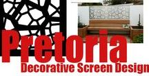 'Pretoria' Design / The bold, abstract, and energetic lines of our 'Pretoria' screen design are ideal for contemporary decor schemes that evoke a tribal, nature-focused warmth and harmony. Here is a collection of products and decorating styles that best match this design, many inspired by African cultures.