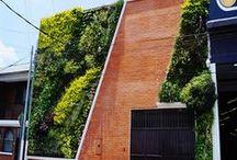 Jardines verticales en Guatemala - Iglesia de Cristo Ebenezer / Jardín vertical realizado en Guatemala por Paisajismo Urbano y su franquicia local By Botanik