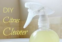 Green Cleaning / Ditch the toxic chemicals! Great ways to clean with safe DIY alternatives.