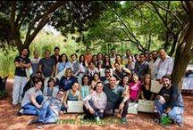 Curso de muros verdes en México 2016 / Fotos de la convocatoria más reciente de nuestro curso de muros verdes en México. La duración del Curso Profesional de Diseño y Construcción de Jardines Verticales es de 25 horas durante 5 días en los que se imparten clases tanto teóricas como prácticas.