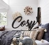 Cosy Bedroom / Looking for inspiration to make your bedroom cosier for those cold winter nights? Look no further.