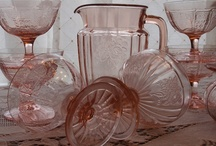 Antique Glass,Depression, Carnival, Fenton & others / All glass pieces that I do love, some I have, some I want,