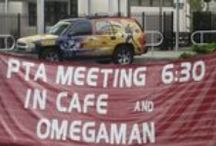PTA  / PTO / Many PTA's/ PTO's around the nation have sponsored the Omega-Man School Assembly for their students! www.omegamanschools.com