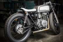 Cafe Racers, Bobbers and Trackers