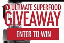 ULTIMATE SUPERFOOD GIVEAWAY / Undiscovered Kitchen has partnered with artisan companies and health & fitness bloggers from around the country to give away over 100 artisan superfood products and Vitamix blender! Check out the full prize package and enter for YOUR chance to win! http://contest.io/fb/yc0fogtx