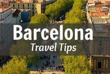 ** B a r c e l O n a ** / Barcelona - Such a beautiful horizon  Like a jewel in the sun  Por ti seré gaviota de tu bella mar  / by *Maria_Pura *