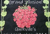 Grand Illusions Mystery Quilt 2014 / Bonnie Hunters 2014 mystery quilt!