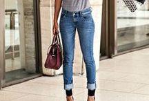 Models in Jeans