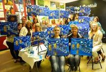 Canvas Painting Party Business Opportunity! / Become a Canvas Painting Party Host!  Join the fastest social trend in Canada!