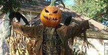 Halloween / - nápady na halloweenskou výzdobu