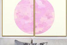 printable pink wall art