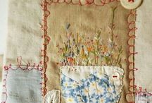 stitch & embroidery / by Tineke Kroes