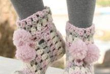 boot ,socks , slippers