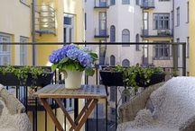Uteplats/balkong