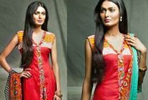 Feminine Emb Collection 2014 By Shariq Vol 2 / 3 Piece Suit Rs.2,275