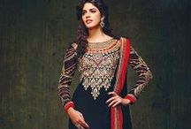 Manjula / Semi Stitched - Party Wear Dresse
